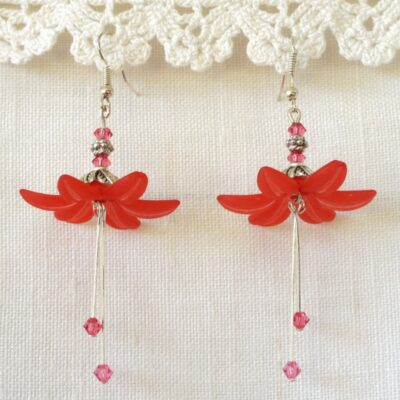 Dancing Flower Earrings 05