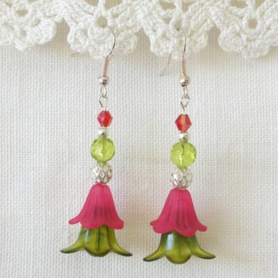 Dancing Flower Earrings 10