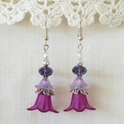 Dancing Flower Earrings 01