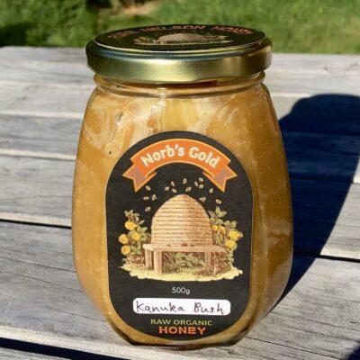 Honey Raw Organic Kanuka Honey