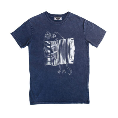 Kingdom Of Klah The Accordion Of Unexpected Fortunes Men's Stonewash Tee