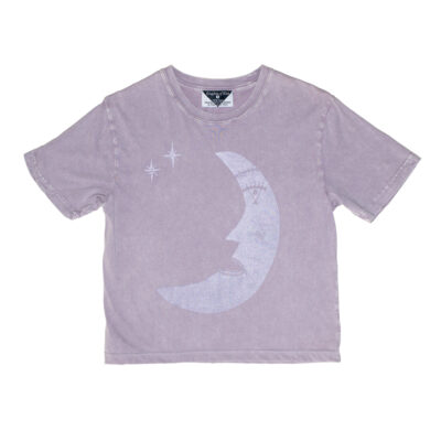 Kingdom Of Klah Les Moon (Poet) Women's Stonewash Monarch Tee