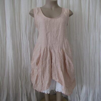 Blush Linen Dress