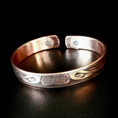 "100% Copper Magnetic Band ""Tiki"""