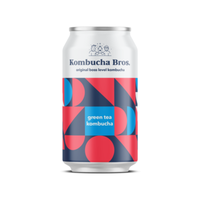 Original Series Green Tea Kombucha 330ml Can