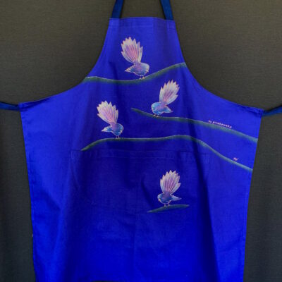 Cotton Drill Apron – NZ Piwakawaka