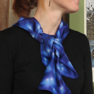 Silk Scarf – Night Sky