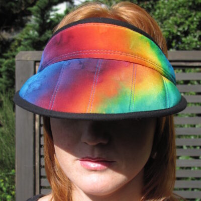 Front Band Visor – Rainbow