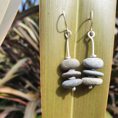 Ursula Beach Pebble Earrings