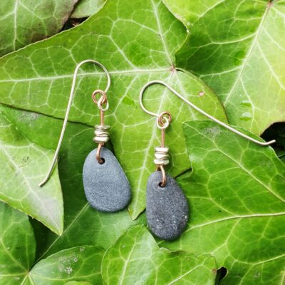 Lisa Beach Pebble Earrings