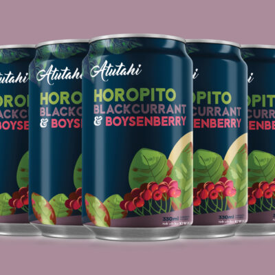 Atutahi Horopito, Blackcurrant & Boysenberry 12 Pack