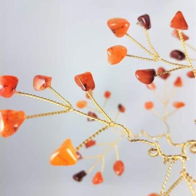 Medium Carnelian GemTree