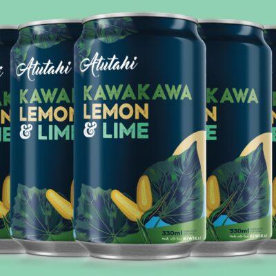 Atutahi Kawakawa Lemon & Lime 12 Pack