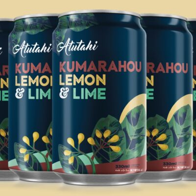 Atutahi Kumarahou Lemon & Lime 12 Pack