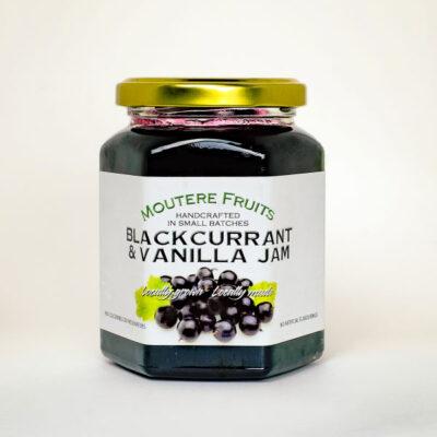 BLACKCURRANT AND VANILLA JAM