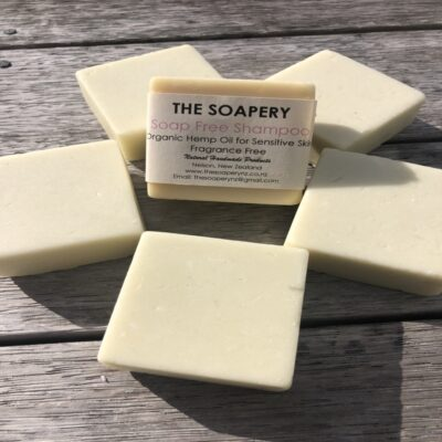 Soap Free Shampoo Bar – Hemp