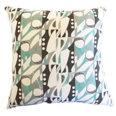Deco Note Cushion Cover – Hemp/Organic Cotton (light)