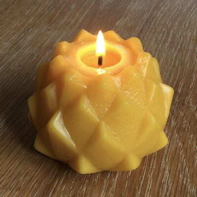 Candle Made From 100% Beeswax