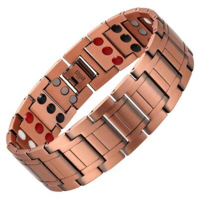 100% Copper Magnetic Bracelet Health 5 Element Band