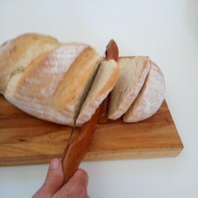 Rimu Bow-style Bread Knife