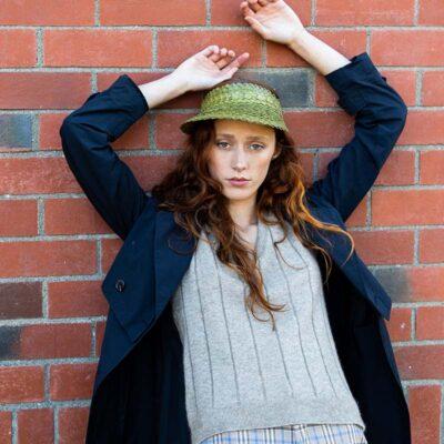 Women's Possum Merino Knit Vest Natural