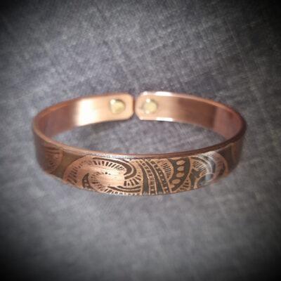 "Magnet Copper Bracelet ""Made To Size"" Tripitaka"
