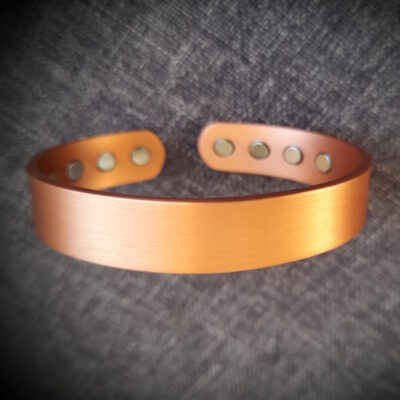 "Magnet Copper Bracelet ""Made To Size"" 8 Magnets"