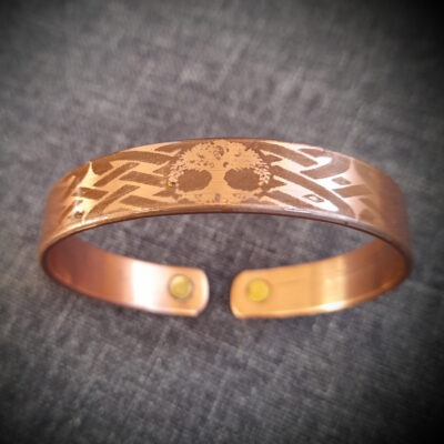 """Magnet Copper Bracelet """"Made To Size"""" Tree Of Life"""